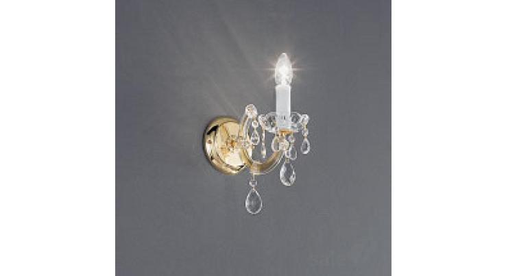Настенный накладной светильник vienna parete 1l voltolina applique